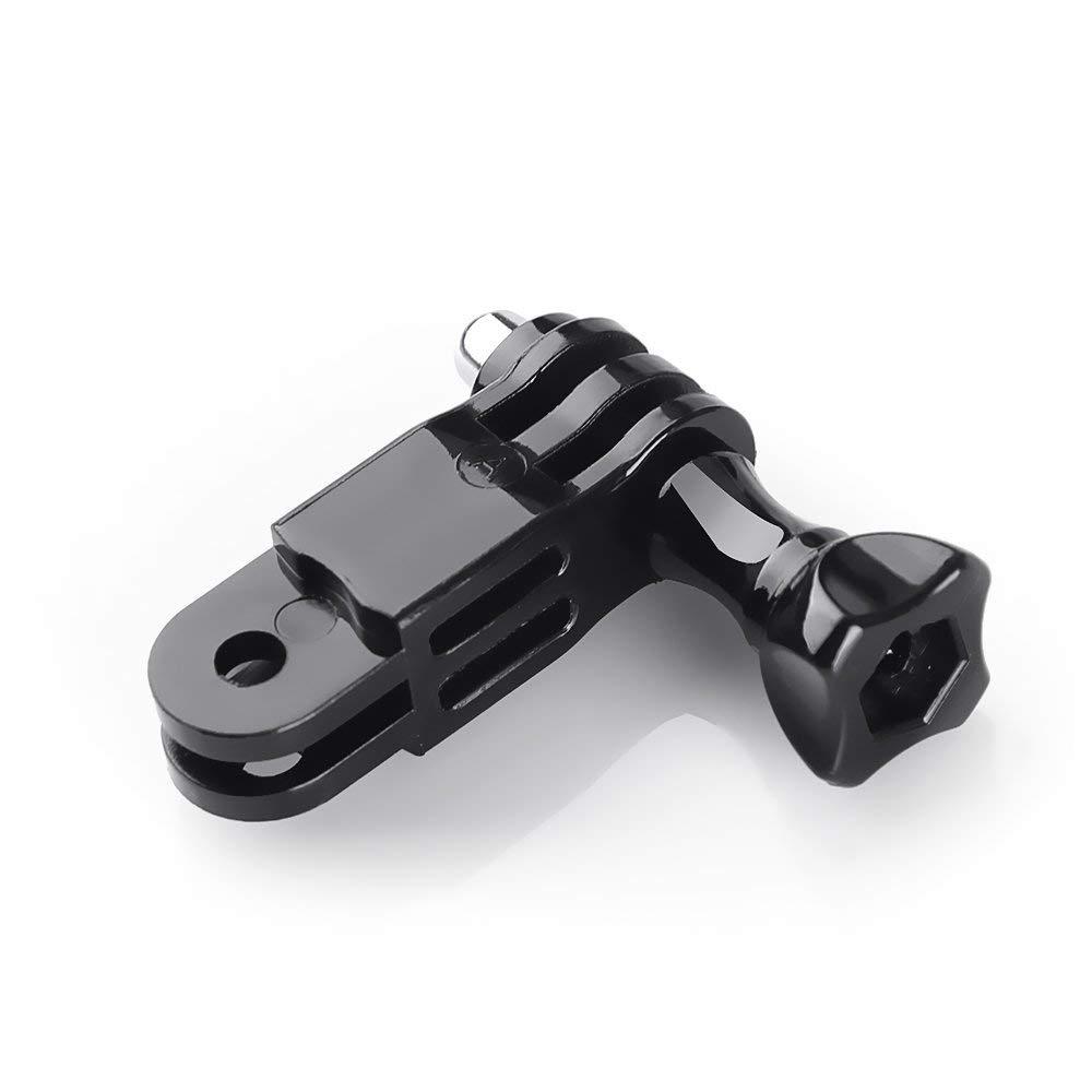 SJCAM AKASO Campark Polaroid Apeman Crosstour Victure Xiaomi YI Kamera Eyeon 3.5-6.5cm Lenker Fahrradhalterung Motorrad Halterung Halter Rohrhalterung mit Schrauben und 3-way Pivot Arm f/ür GoPro
