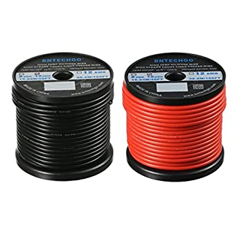 Bntechgo 10 gauge silicone wire 50 feet ultra flexible high temp 200 bntechgo 10 gauge silicone wire 50 feet ultra flexible high temp 200 deg c 600v 10awg greentooth Gallery