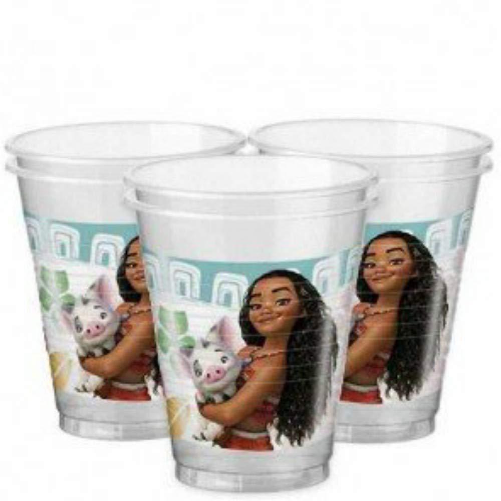 CAPRILO Lote de 24 Vasos de Plástico Infantiles Decorativos ...