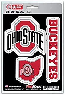 product image for NCAA Ohio State Buckeyes Team Decal, 3-Pack