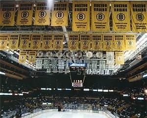 Boston Bruins Boston Garden banners 8x10 11x14 16x20 photo 586 - Size 11x14