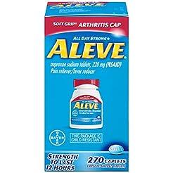Aleve Soft Grip  Arthritis Cap Caplets, ...
