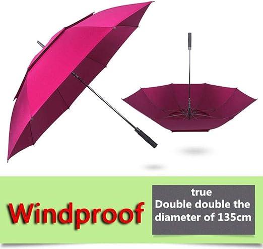 DACCU - Paraguas de Golf para Hombre, Resistente al Viento ...