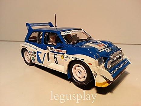 Superslot S3590C Monte Carlo Rally MG Metro 6R4: Amazon.es: Juguetes y juegos