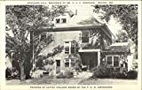 Stockard Hall, Residence of Mr VAC Stockard - Founder of Cottey College Original Vintage Postcard
