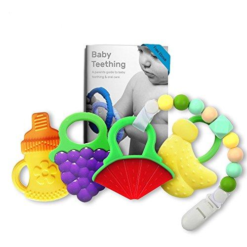Bonbino BPA Free Teething Pacifier Silicone product image
