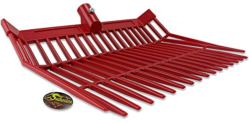 Fork Replacement Head - Perfect Scoop Replacement Fork Heads - By Southwestern Equine (Red)