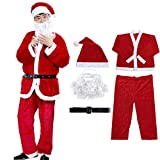 Christmas Santa Claus Costume Santa Suits Santa Costume for Men Adult Costume