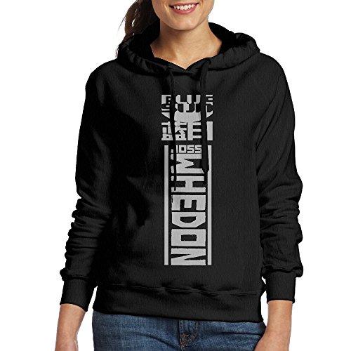 YLS Women Agents Television Series Leisure Cool Hoodie Sweatshirt Size XL Black