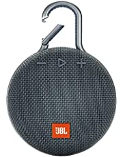 JBL Clip 3 Portable Waterproof Wireless Bluetooth Speaker with up to 10 Hours of Battery Life - Blue