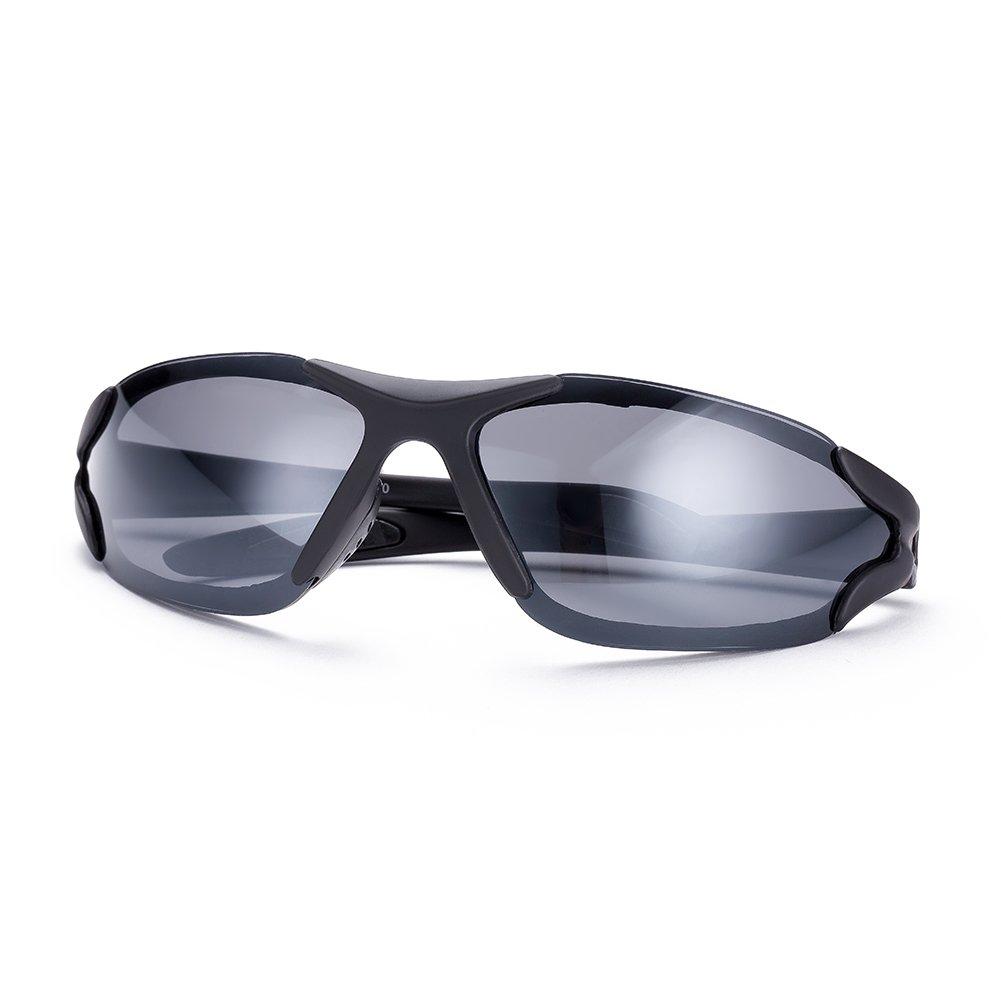 NYKKOLA para mujer para hombre rimeless polarizadas gafas de espejo gafas de sol gafas gafas UV400co...