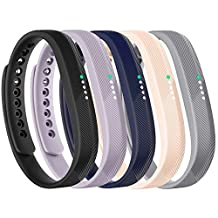 CUMILO Replacement Bands for Fitbit Flex 2 Wristband