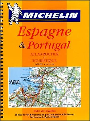 carte routiere du portugal Carte routière : Espagne   Portugal, 460, 1/400000: 9782060002736
