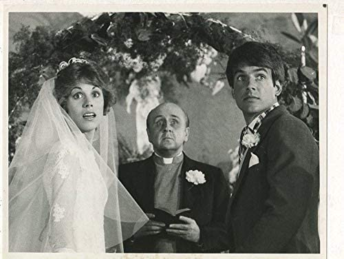 Bess Armstrong Mark Harmon- Getting Married 1978 CBS TV press ...