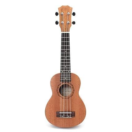 ZGHNAK Ukelele de 21 pulgadas, guitarra para principiantes ...