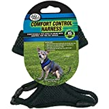 Four Paws Extra Small Black Comfort Control Dog Harness