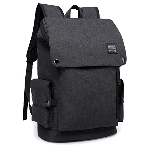 Mens Business Backpack Notebook Womens Bags Rucksack For Waterproof 20inch Backpacks Black School Travel Laptop College Lightweight zPqFHaPn