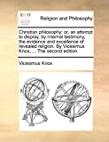 Christian Philosophy, Vicesimus Knox, 1140807633