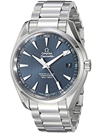231.10.42.21.03.003 Seamaster Aqua Terra Automatic Mens Watch - Blue Dial