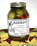 Harold's Spicy 4X Habanero Dill Pickle 32oz quart