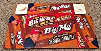 """Dale Earnhardt Jr Signed BIG MO """"Big Moment"""" Chocolate Caramel Bar Display Box - Autographed NASCAR Miscellaneous Items by Sports Memorabilia"""