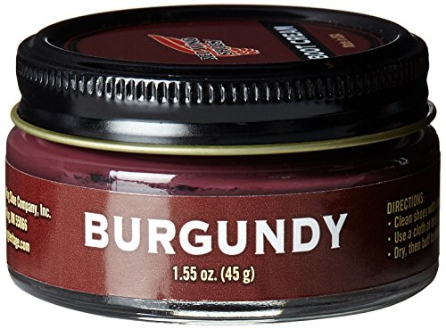 Red Wing Heritage Burgundy Boot - Burgundy Leather Shoe Polish