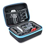 AFAITH Sports Camera Bag - Shockproof Travel Carry Storage Bag Case Rugged Black Portable Case Protective Bag Storage Box for GoPro Hero 5&Hero 6-Small GP070