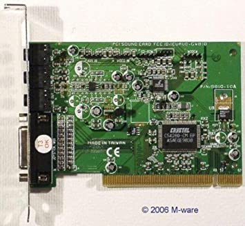 CRYSTAL 4280 PCI SOUND CARD WINDOWS 7 DRIVERS DOWNLOAD (2019)