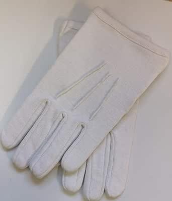 Freemasons Masonic - Guantes para hombre (algodón, 3 dardos, talla ...