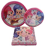 Shimmer and Shine 3 Piece Party Pack - 2 Packs of Plates and 1 Pack Napkins