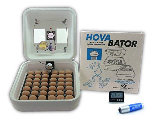Incubator Kit - HovaBator Deluxe Egg Incubator Combo Kit