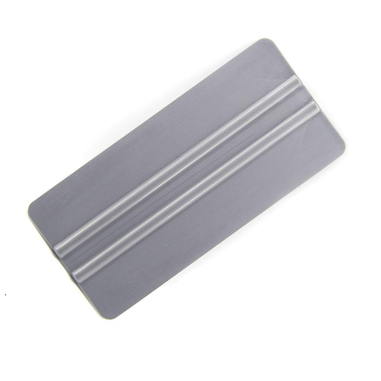 5559014624 GUGUGI CARTINTS 6 Inch Auto Window Tint Vinyl Wrap Tool Soft Squeegee Card Squeegee Wallpaper Install Scraper Silver