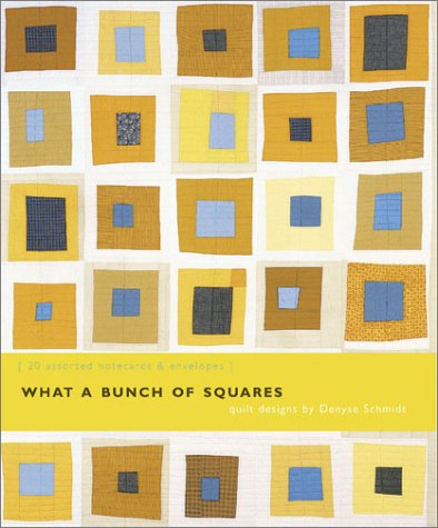Denyse Schmidt Quilts - What a Bunch of Squares Notecards (Deluxe Notecards)