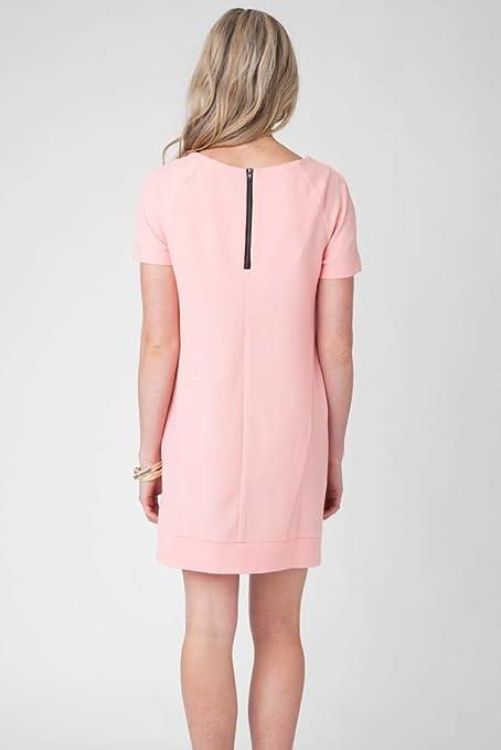 401f31c192a Ripe Maternity Sara Baby Shower Shift Dress - Pink - X-Large at Amazon  Women s Clothing store