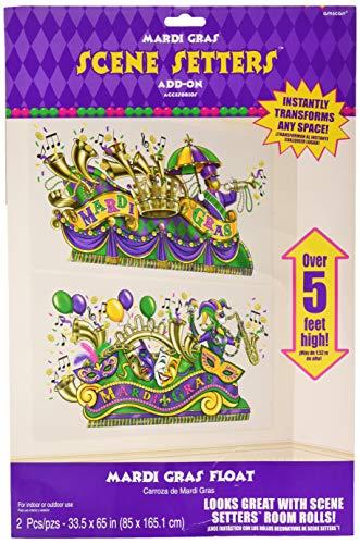 Amscan 670731 party decoration One Size Multicolor - Mardi Gras Float
