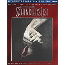 Schindler's List (Blu-ray + DVD + DIGITAL HD with UltraViolet) by Universal Studios