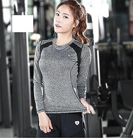 83f3aad7c386 Amazon.com   DACHUI Women 2-Piece Set Fitness Fitness Center Running ...