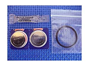 Battery and o ring kit for dacor omni digital quantum loop dive computers - Dacor dive computer ...