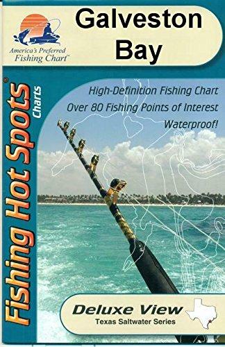(Galveston Bay, Texas Saltwater Fishing Map)