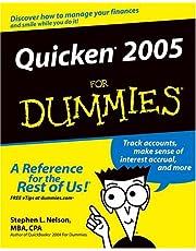 Quicken 2005 For Dummies