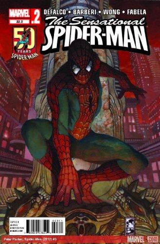 "Sensational Spider-man #33.2 ""Celebrating 50 Years """
