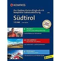 Südtirol: 3 in 1: Das KOMPASS-Outdoor-Karten Ringbuch mit kompletter Gebietsabdeckung 1:35000