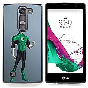 - Superhero Green Black Robin Costume Art - - Snap-On Rugged Hard Cover Case Funny HouseFOR LG Volt 2 / LG G4 Mini (G4c)