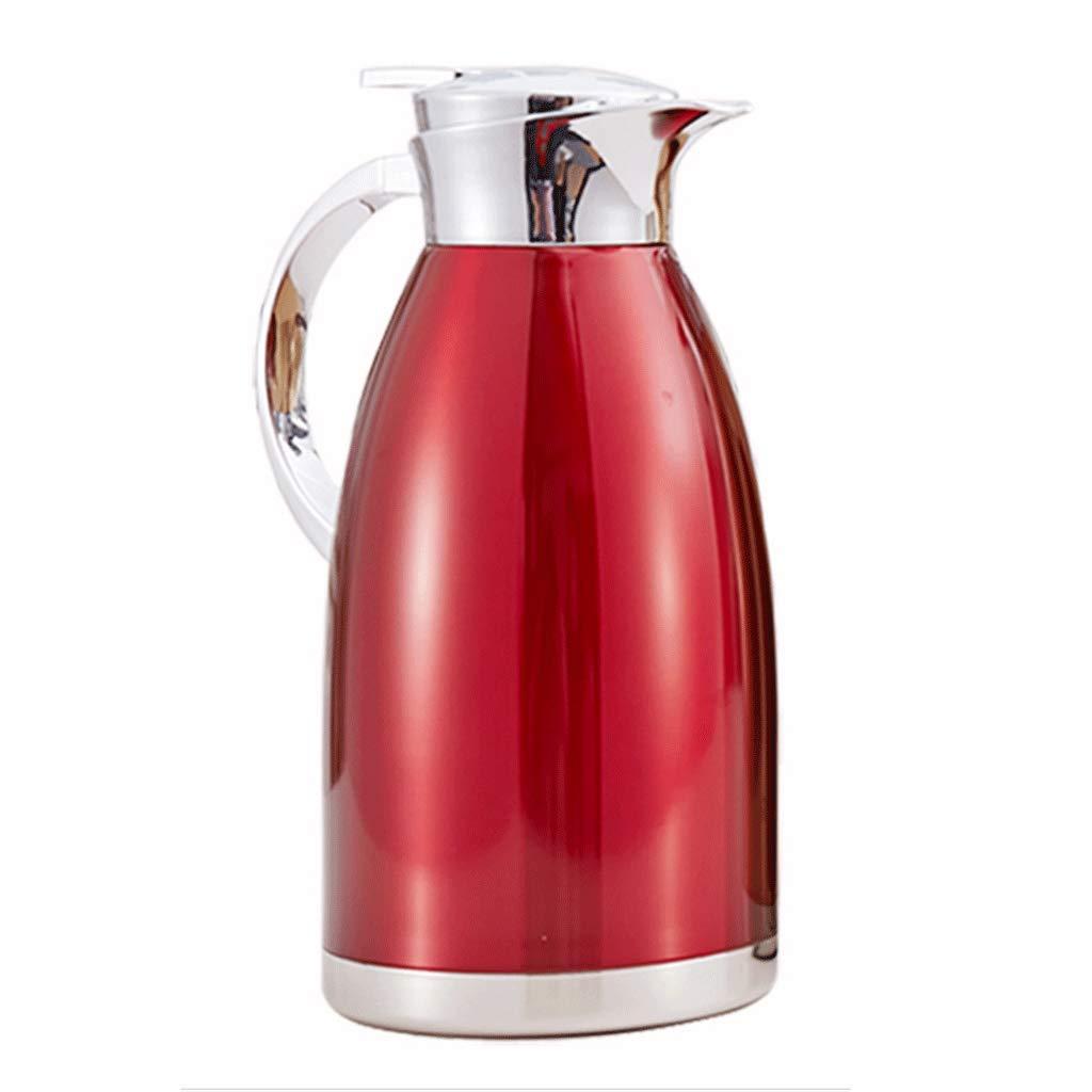 WLHW Trinkflaschen Isolierung Topf, 2L Haushalt 304 Edelstahl 360 Grad Anti-invertiert Sealing Kettle Pot Auto Thermos