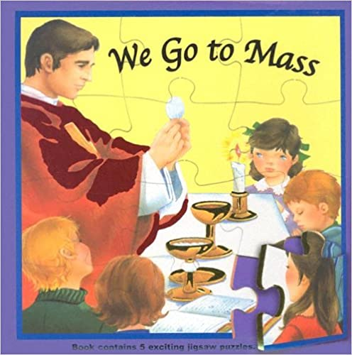 We Go to Mass (St. Joseph Puzzle Books)