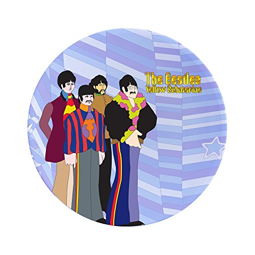 Vandor 73237 Beatles Yellow Submarine 4 pc. Dinner Plate Set