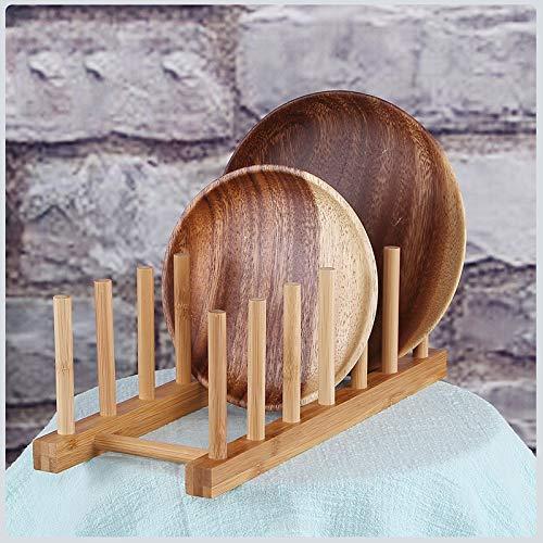 SaveStore 3/6 Layer Bamboo Dish Rack Drainboard Drying Rack