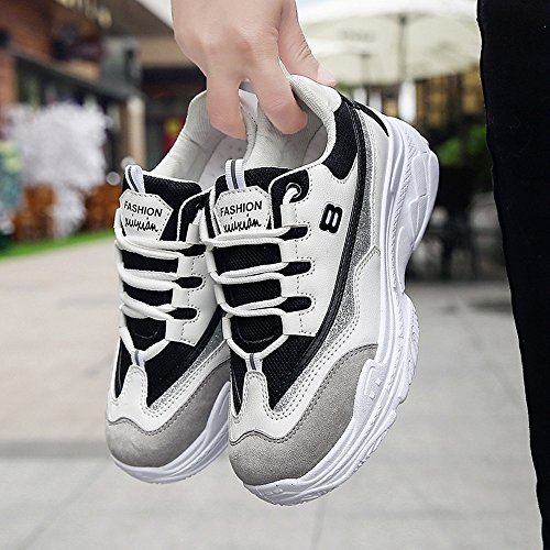 Deportivas Sneakers Mujer Zapatillas Transpirables Gimnasio Deporte Zapatos para Negro Casual para Running Correr axZ8zwq