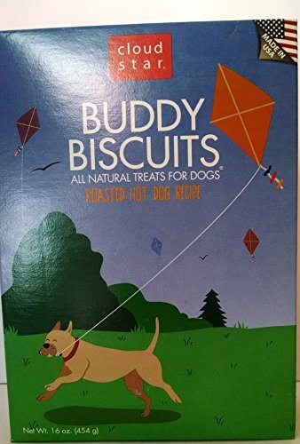 Cloud Star Buddy Biscuits Roasted Hot Dog Recipe All Natural Treats 16 Oz