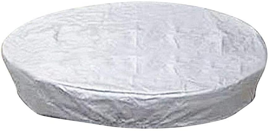 Nicemeet Pool Spa Hot Tub Cover Cap Heavy Duty Water-Resistant Polyester Spa...